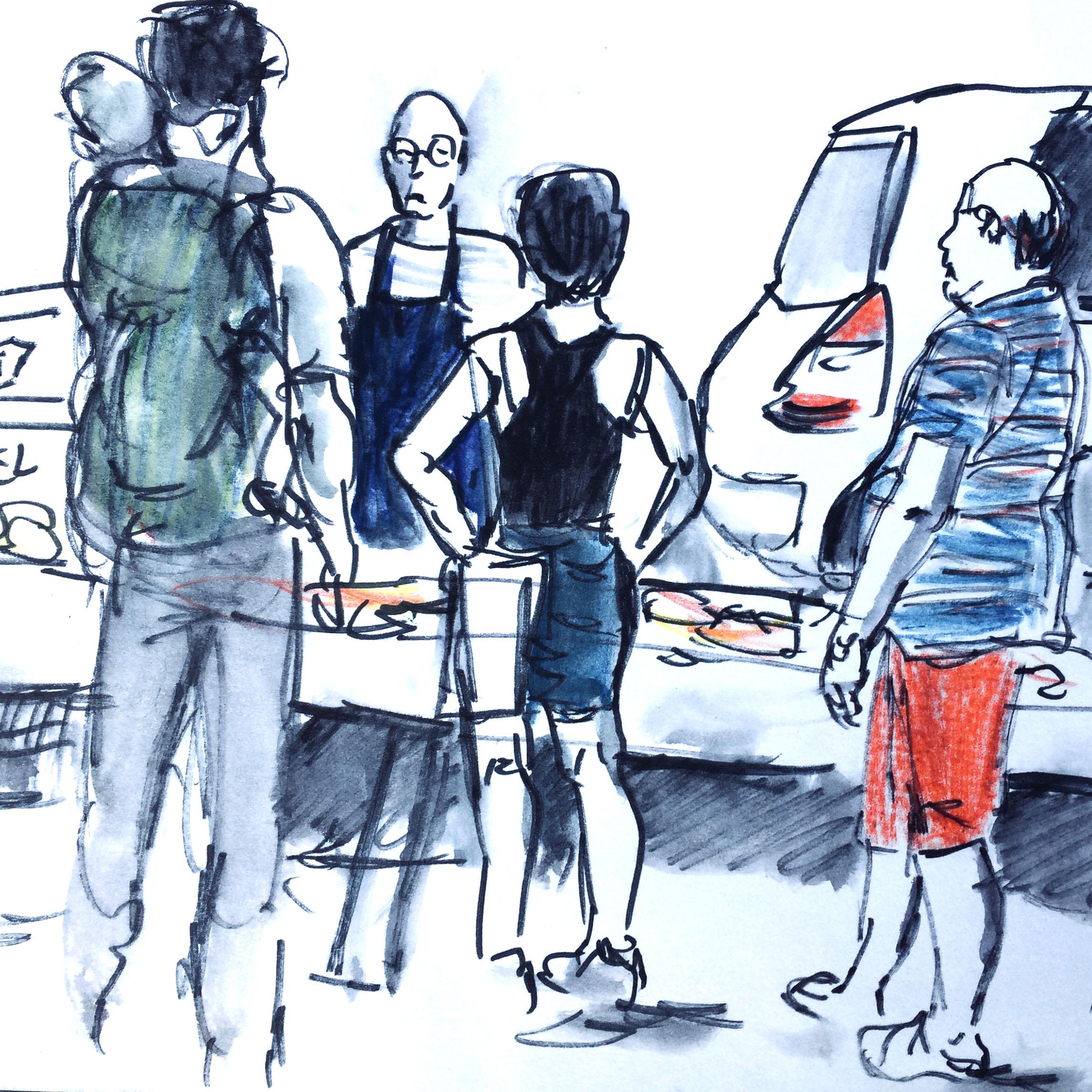 Porfolio – Item Croquis et dessins