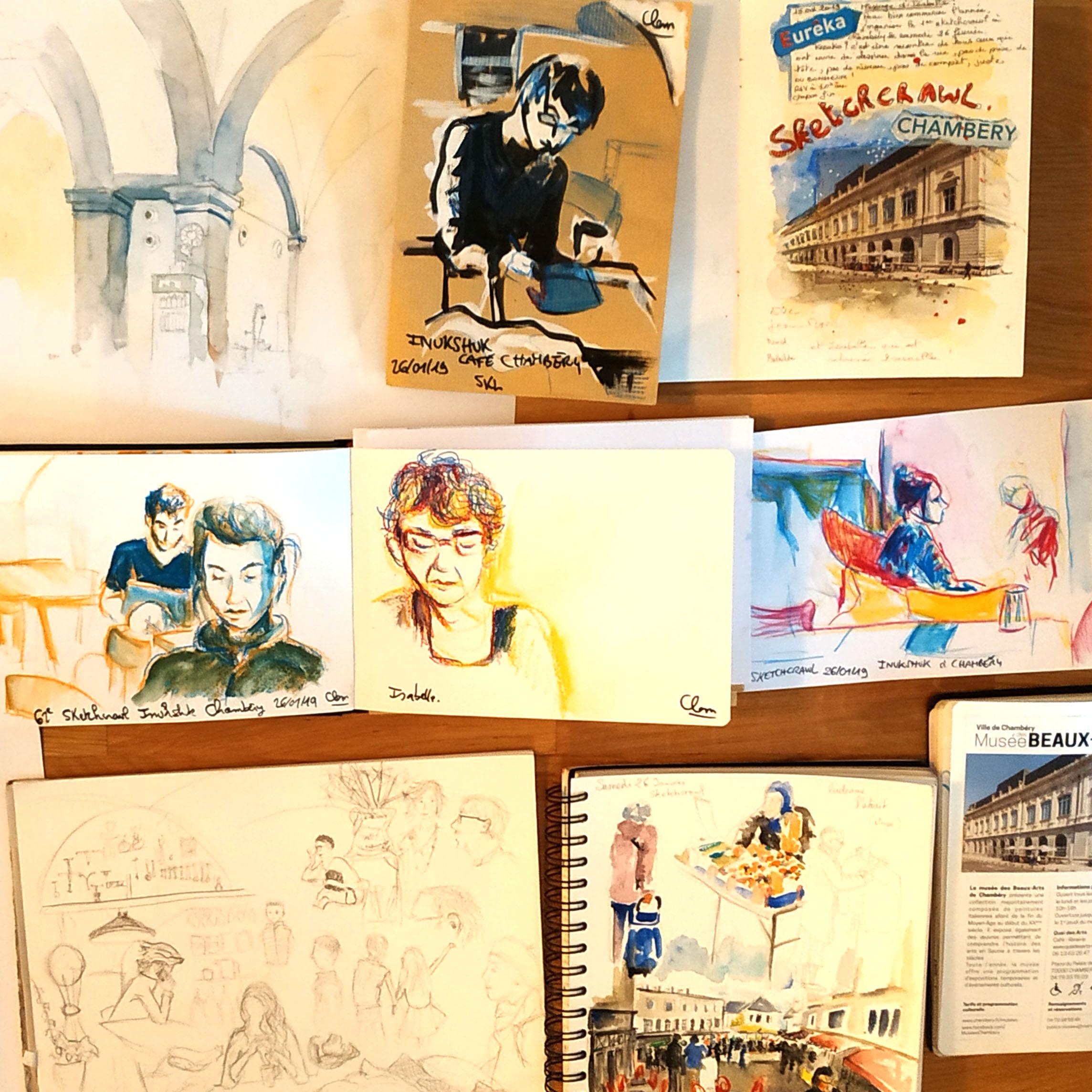 Portfolio – Item Urban Sketchers