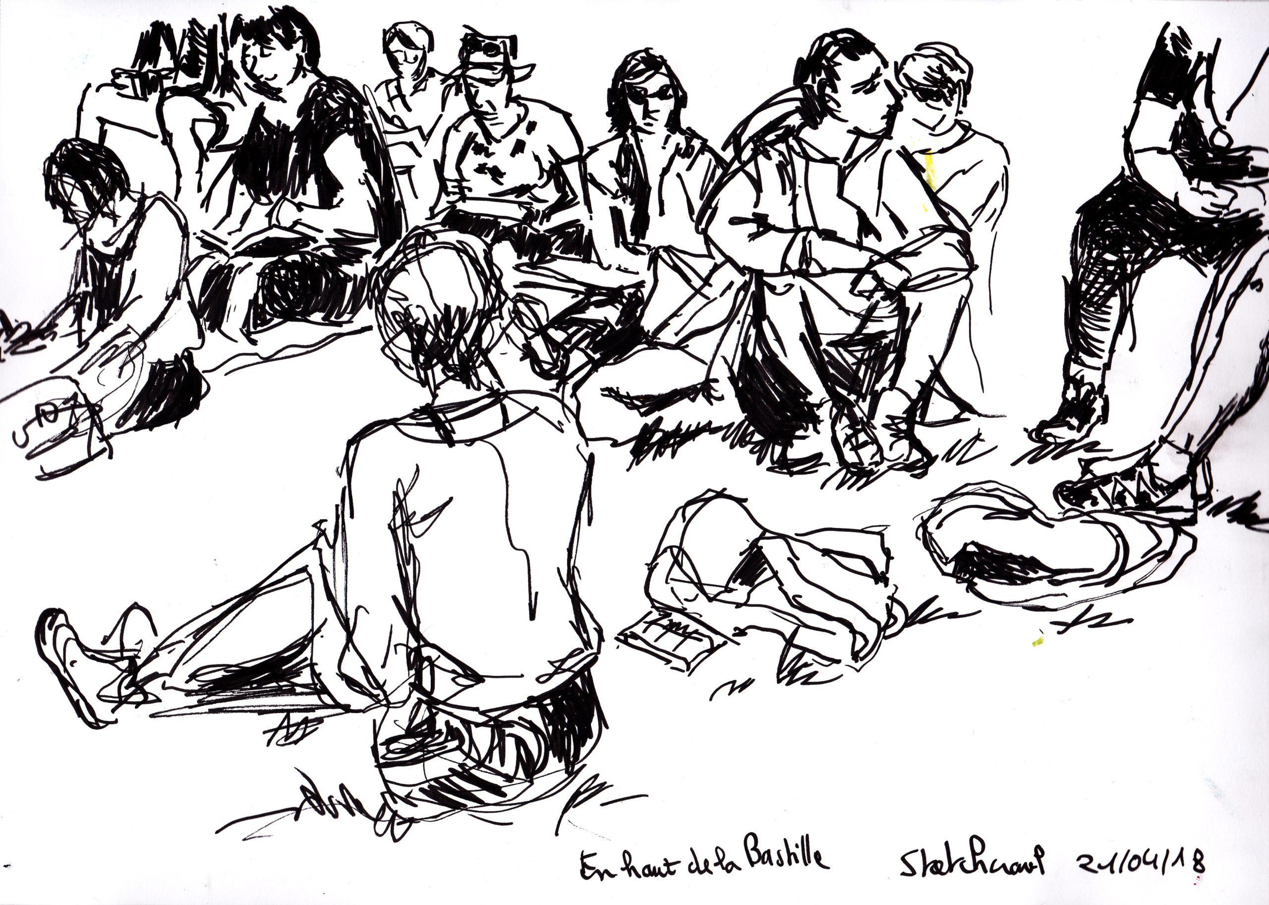 Sketchcrawl Bastille Avril 2018_0002 copie